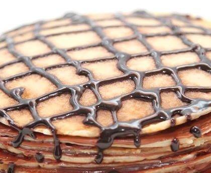 Tarta de Crepes y Chocolate