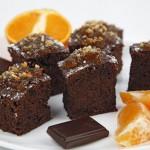 Bocaditos de espelta con chocolate y mandarina Harinas Harimsa