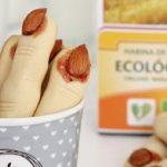 Dedos de bruja con harina de trigo ecológica Harimsa