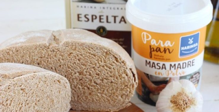 Pan de espelta integral con masa madre Harimsa