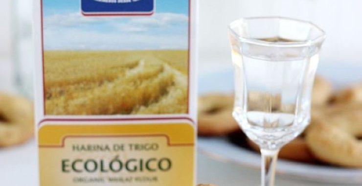 Rollitos de anís con harina de trigo ecológico Harimsa