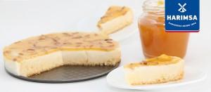 Pastel de queso Suizo con harinas Harimsa