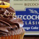 Cupcakes extra chocolate con naranja