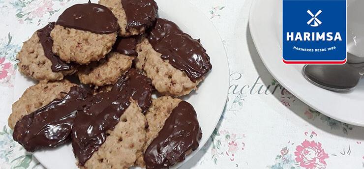 Galletas digestivas de chocolate