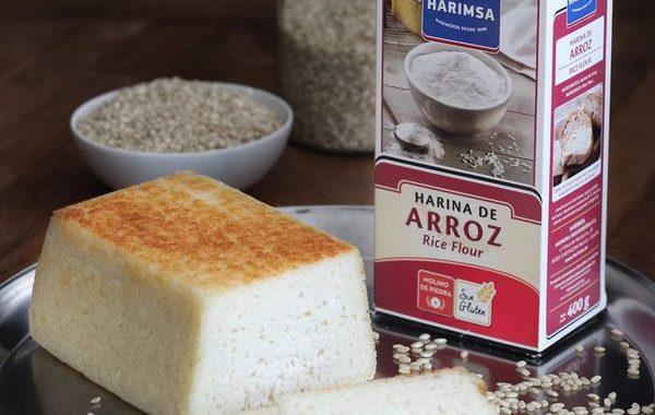 Pan de Arroz con harina de arroz Harimsa