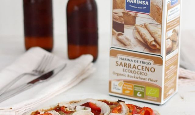 Pizza De Harina De Trigo Sarraceno Ecológico Harimsa